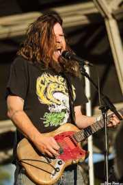 Bryan Giles, cantante y guitarrista de Red Fang, Azkena Rock Festival, Vitoria-Gasteiz. 2015