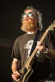 David Sullivan, guitarrista de Red Fang, Azkena Rock Festival, Vitoria-Gasteiz. 2015