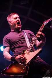 Bill Kelliher, guitarrista de Mastodon, Azkena Rock Festival, Vitoria-Gasteiz. 2015