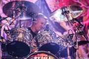 Brann Dailor, baterista y cantante de Mastodon, Azkena Rock Festival, Vitoria-Gasteiz. 2015