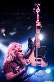 Troy Sanders, bajista y cantante de Mastodon, Azkena Rock Festival, Vitoria-Gasteiz. 2015
