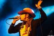 Keith Morris, cantante de Off!, Azkena Rock Festival, Vitoria-Gasteiz. 2015