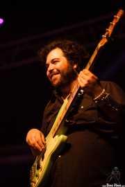 Daniel Mckee, bajista de John Paul Keith, Azkena Rock Festival, Vitoria-Gasteiz. 2015