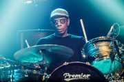 Oscar Harrison, baterista de Ocean Colour Scene, Azkena Rock Festival, Vitoria-Gasteiz. 2015