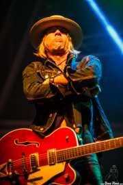 David Eugene Edwards, cantante, guitarrista y banjolinista de Wovenhand, Azkena Rock Festival, Vitoria-Gasteiz. 2015