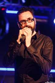 Luke Donovan, cantante y guitarrista de Cycle, Sala Sonora, Erandio. 2015