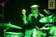 Gonzalo Maestre, baterista de Julián Maeso, La Ribera, Bilbao. 2015