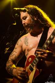 Matt Pike, cantante y guitarrista de High on Fire, Kafe Antzokia, Bilbao. 2015