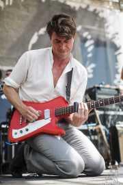 Luke Winslow-King, cantante, guitarrista y armonicista, BluesCazorla - Plaza de Santa María, Cazorla. 2015