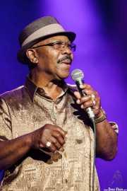 Willie Walker, cantante de Igor Prado Band & Willie Walker, BluesCazorla - Plaza de toros, Cazorla. 2015
