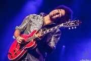 Selwyn Birchwood, guitarrista y cantante de Selwyn Birchwood Band, BluesCazorla - Plaza de toros, Cazorla. 2015