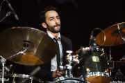 Pablo Bárez del Cueto, baterista de Edu Manazas & Whiskey Tren, BluesCazorla - Plaza de toros, Cazorla. 2015