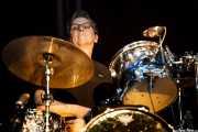 Kenneth Blevins, baterista de John Hiatt & The Combo, BluesCazorla - Plaza de toros, Cazorla. 2015