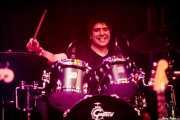 "Enrique ""Bugs"" Gonzalez, baterista de Los Lobos, BluesCazorla - Plaza de toros, Cazorla. 2015"