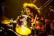 Chris St. Hilaire, baterista y cantante de The London Souls, BluesCazorla - Plaza de toros, Cazorla. 2015