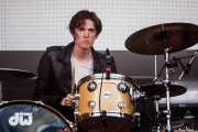 Josh Macintyre, baterista de Marmozets, Bilbao BBK Live, Bilbao. 2015