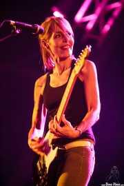 Amparo Llanos, guitarrista de Dover, Bilbao BBK Live, Bilbao. 2015
