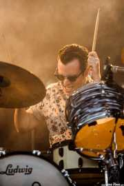 Gerry Morgan, baterista de James Bay, Bilbao BBK Live, Bilbao. 2015