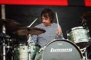 Brian Young, baterista de The Jesus & Mary Chain, Bilbao BBK Live, Bilbao. 2015