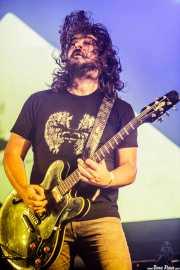 """Iñaki Imaz """"Piti"""", guitarrista de Zea Mays, Bilbao BBK Live, Bilbao. 2015"""