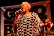 Darliene Parker, cantante corista de Maceo Parker, Getxo & Blues - Pza. Biotz alai, Getxo. 2015