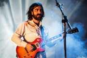 Daniel Merino, guitarrista de Smile, Mundaka Festival, Mundaka. 2015