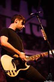 Chris Head, guitarrista de Anti-Flag, Mundaka Festival, Mundaka. 2015