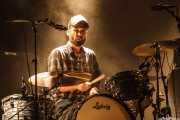 Jokin Corral, baterista de Dead Bronco, Mundaka Festival, Mundaka. 2015