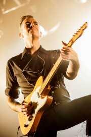 Mario Cobo, guitarrista de Loquillo, Mundaka Festival, Mundaka. 2015