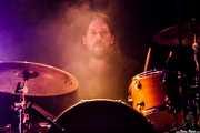 Nick Kilroe, baterista de Echo & The Bunnymen, Mundaka Festival, Mundaka. 2015