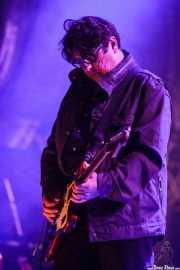 Will Sergeant, guitarrista de Echo & The Bunnymen, Mundaka Festival, Mundaka. 2015