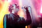 Ian McCulloch, cantante de Echo & The Bunnymen, Mundaka Festival, Mundaka. 2015