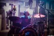 Gorka Psyko, baterista de Los carniceros del norte, Kafe Antzokia, Bilbao. 2015