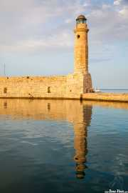 Faro en el puerto veneciano de Rétino (11/09/2015)