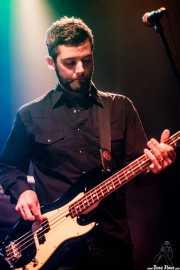 Jimmy Stofer, bajista de Ryan Bingham & Band, Kafe Antzokia, Bilbao. 2015