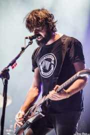 Gorka Arbizu, guitarrista y cantante de Berri Txarrak, Bilbao Exhibition Centre (BEC), Barakaldo. 2015