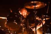 David Sandström, baterista de Refused, Bilbao Exhibition Centre (BEC), Barakaldo. 2015