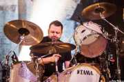 Brandon Barnes, baterista de Rise Against, Bilbao Exhibition Centre (BEC), Barakaldo. 2015