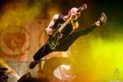 Zach Blair, guitarrista de Rise Against, Bilbao Exhibition Centre (BEC), Barakaldo. 2015