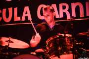 Ludo, baterista de Chrome Reverse, Funtastic Dracula Carnival, Benidorm. 2015