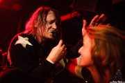 "Andy MacBain ""Andy California"" cantante de The Monsieurs, Funtastic Dracula Carnival, Benidorm. 2015"