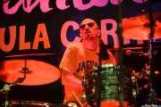 Von Hoks, baterista de Los Ass-Draggers, Funtastic Dracula Carnival, Benidorm. 2015