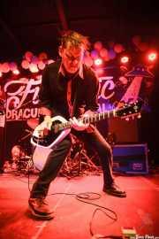 Pedro Mire, guitarrista de Muck & The Mires, Funtastic Dracula Carnival, Benidorm. 2015