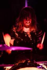 Tyson Vogel, baterista, cantante y guitarrista de Two Gallants, Sala Azkena, Bilbao. 2015
