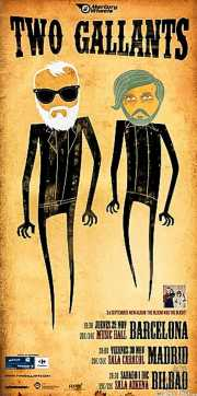 Cartel de Two Gallants