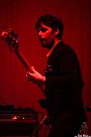 Bajista de Gaspard Royant, BIME festival, Barakaldo. 2015