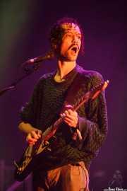 Darwin Merwan Smith, cantante y guitarrista de Darwin Deez, BIME festival, Barakaldo. 2015