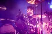 Jamie Morrison, baterista de Stereophonics, BIME festival, Barakaldo. 2015