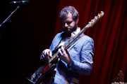 Cameron Ralston, bajista de Matthew E. White, BIME festival, Barakaldo. 2015