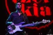 Alex Bonfanti, bajista de Michael Kiwanuka (BIME festival, Barakaldo, 2015)